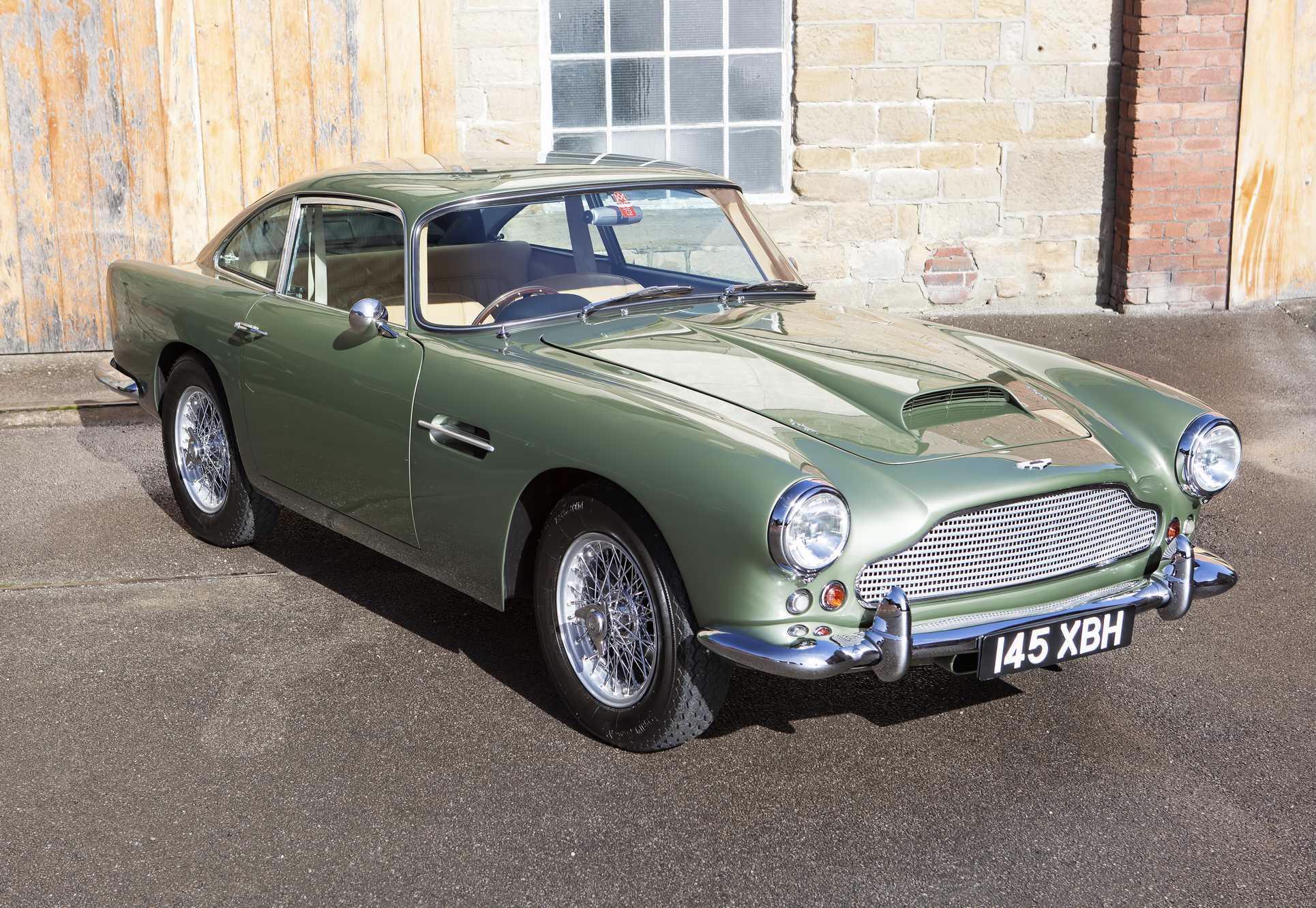 1961 Aston Martin Db4 Series Iii Saloon Adrian Johnson