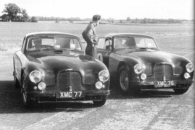 1952 Aston Martin DB2 to works lightweight team car specification