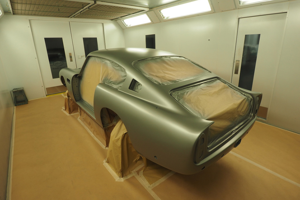 Paint Shop Spray Booth